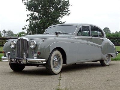 Lot 80-1957 Jaguar MK VIII