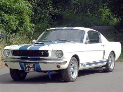 Lot 48-1965 Ford Mustang 289 Fastback