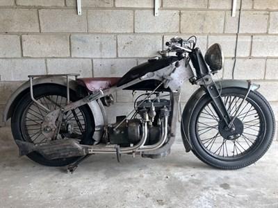 Lot 11 - c.1930 Dresch 500cc