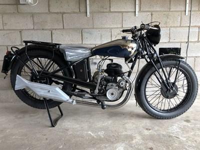 Lot 13 - 1932 Motobecane B44