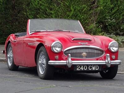 Lot 5-1962 Austin-Healey 3000 MKII