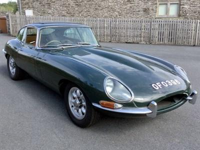 Lot 32-1962 Jaguar E-Type 3.8 Coupe