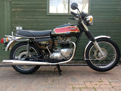 Lot 16-1979 Triumph T140E Bonneville
