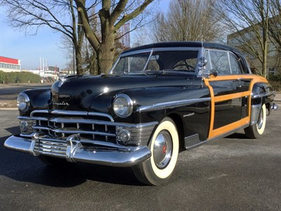Lot 52-1950 Chrysler Newport Town & Country Coupe