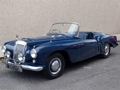 Lot 43-1954 Daimler Conquest Roadster
