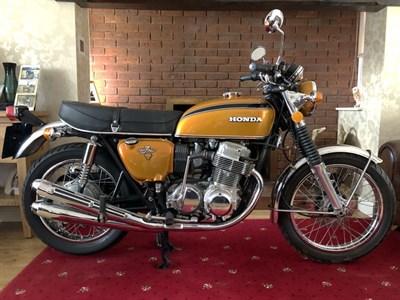 Lot 129 - 1972 Honda CB750 K2/K7