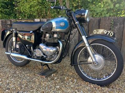 Lot 124 - 1956 AJS Model 30