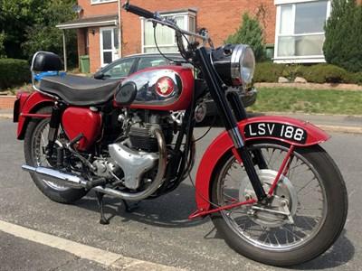 Lot 130 - 1958 BSA A7