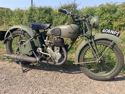 Lot 147 - 1939 Norton Model 16H WD