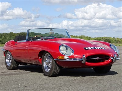 Lot 90 - 1961 Jaguar E-Type 3.8 'Flat Floor' Roadster