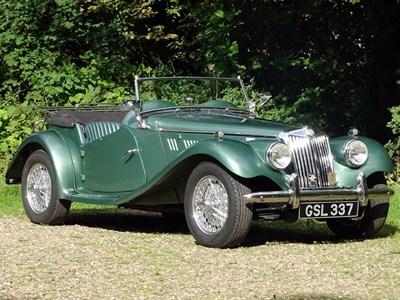 Lot 70-1955 MG TF 1500