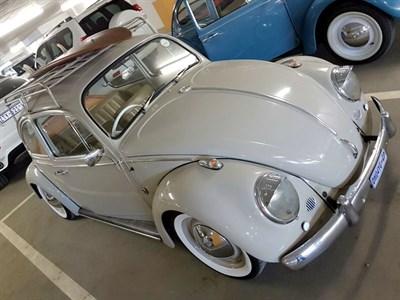 Lot 45-1966 Volkswagen Beetle 1600