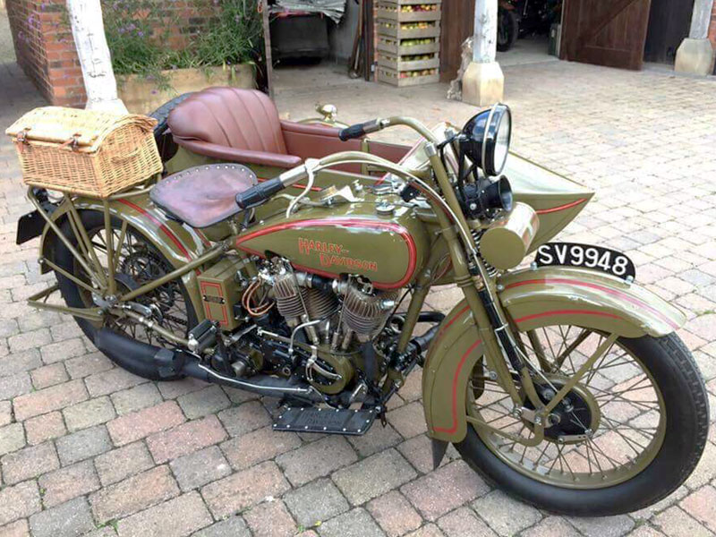 Lot 78 - 1927 Harley Davidson Model JD