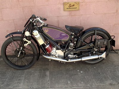 Lot 76-1928 Scott TT Works