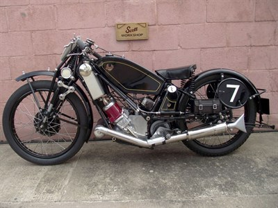 Lot 145 - 1929 Scott TT IOM