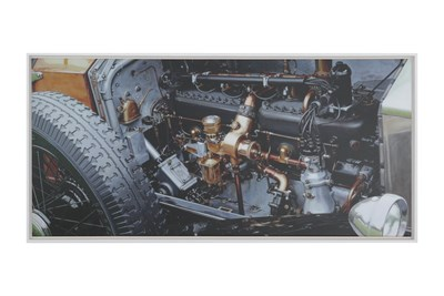Lot 46-Rolls-Royce Canvas Print