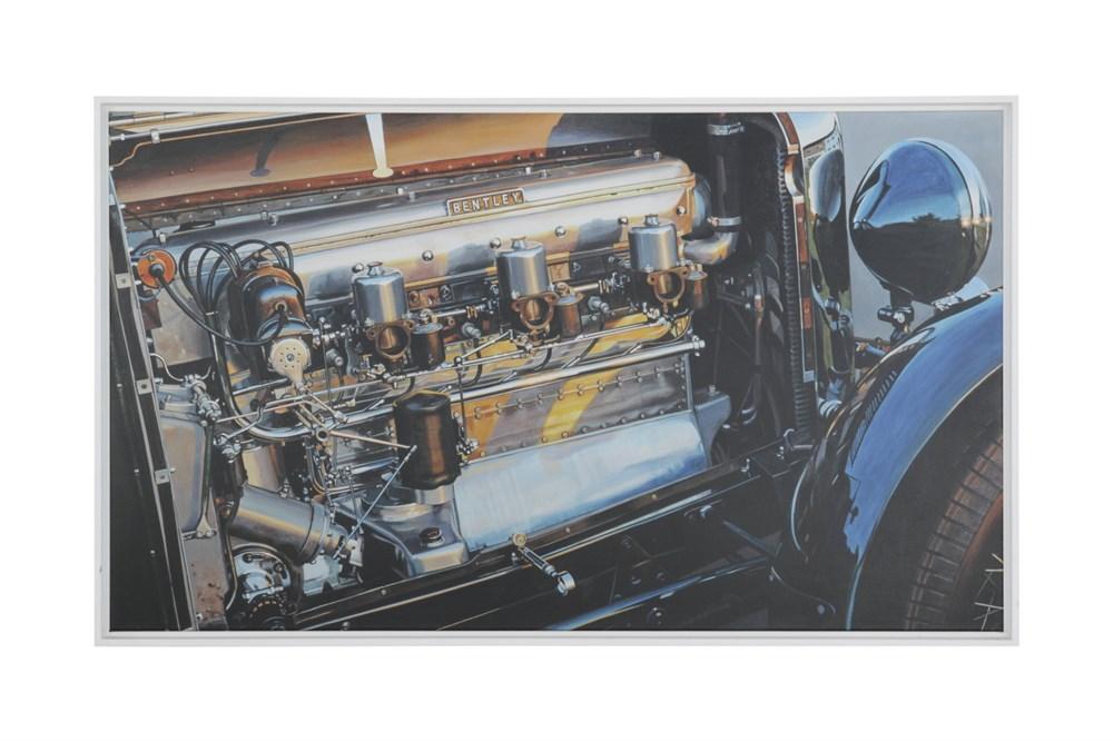 Lot 14-Bentley Canvas Print
