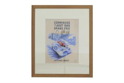 Lot 15 - 'Grand Prix' Original Artwork