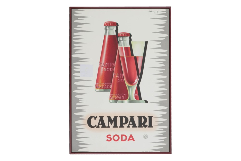 Lot 22-A Campari Advertising Poster