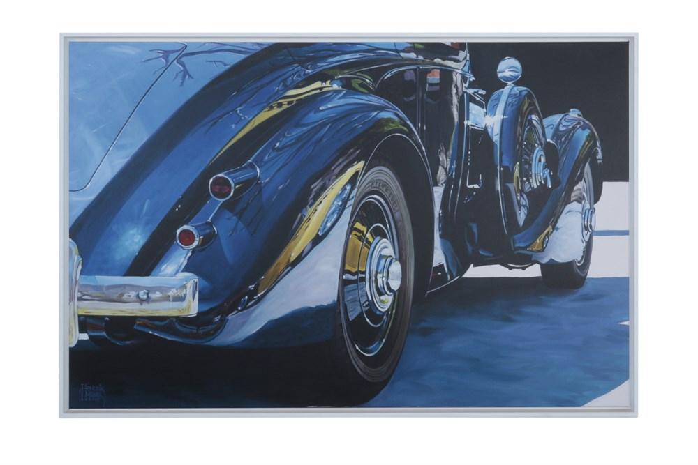Lot 17-A Bentley Canvas Print