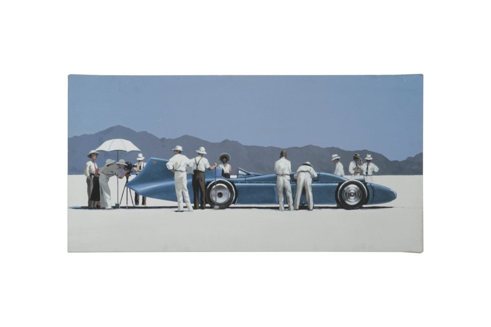 Lot 32 - A 'Bluebird' Canvas Print