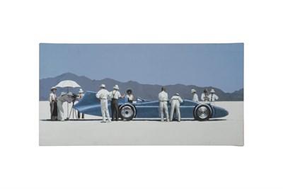 Lot 32-A 'Bluebird' Canvas Print