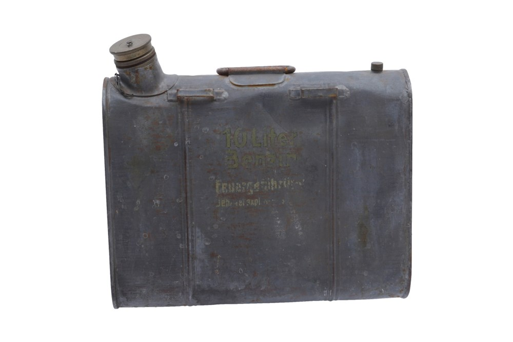 Lot 35-An Unusual Metal Fuel Can