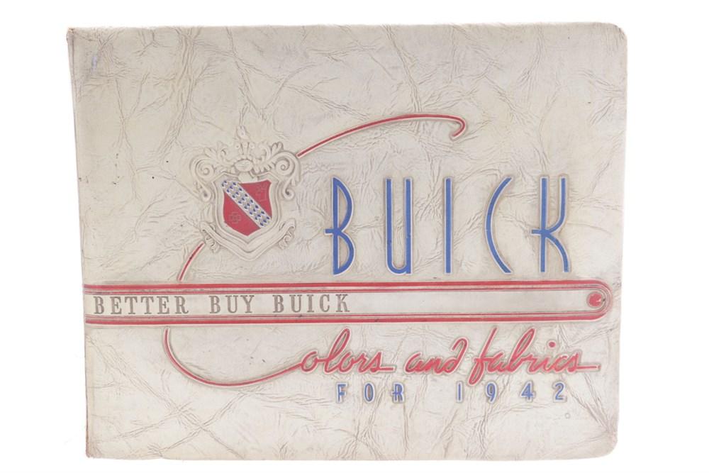 Lot 44 - A Rare Buick Dealer's Brochure for the 1942-Range