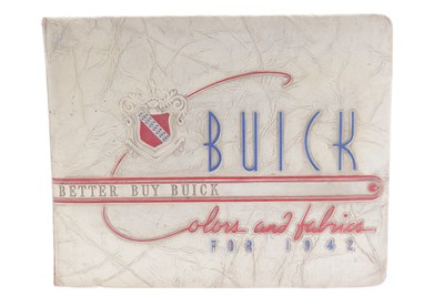 Lot 44 - A Rare Buick Dealer's Brochure for the 1942-Range