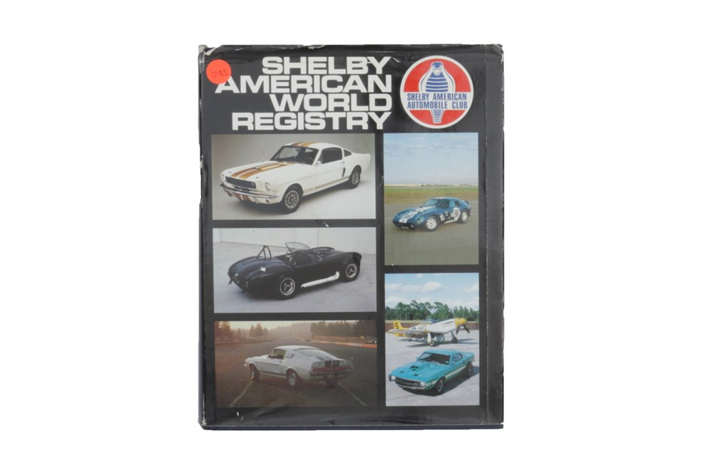 Lot 54-'Shelby American World Registry'