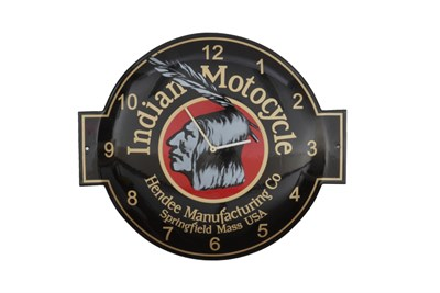 Lot 63-A Reproduction Indian Motors Enamel Sign