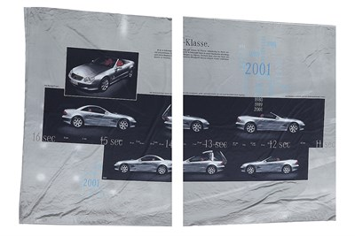 Lot 65-A Mercedes-Benz Showroom Banner