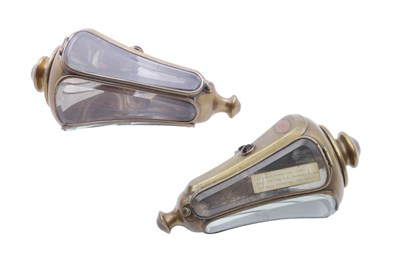Lot 101-A Pair of CAV Edwardian Side Lamps