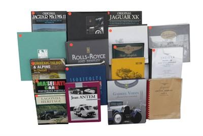 Lot 112-Quantity of Literature