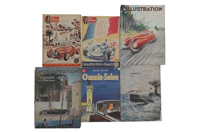 Lot 114-Six Early Motoring Magazines