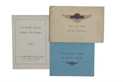 Lot 117-Lagonda Paperwork