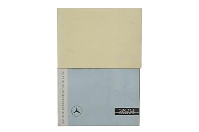 Lot 125-Two Mercedes-Benz Sales Brochures