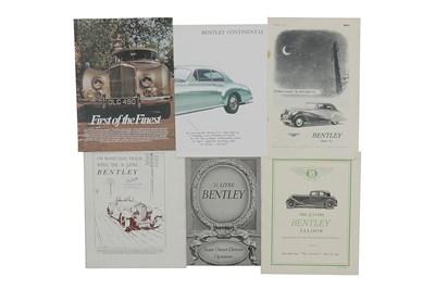 Lot 127-Bentley Paperwork