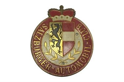 Lot 98-A Salzburger-Automobil-Club Members Badge