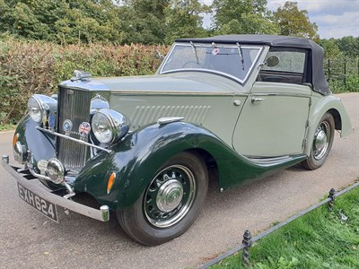 Lot 9-1938 Railton Little Fairmile Three Position Drophead Coupe