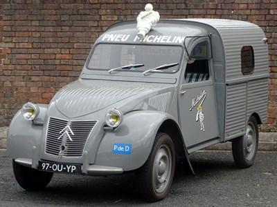 Lot 38-1962 Citroen 2CV Van