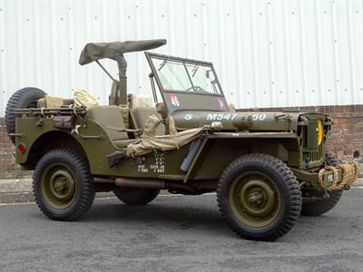 Lot 59-1943 Ford GPW Jeep