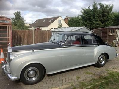 Lot 31-1957 Rolls-Royce Silver Cloud
