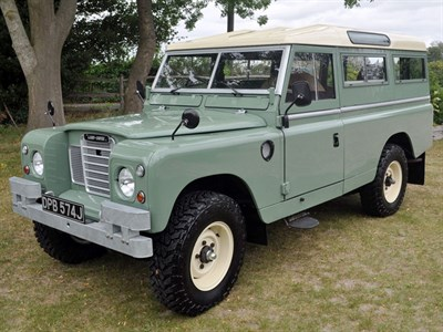 Lot 82 - 1970 Land Rover 109 Series IIA