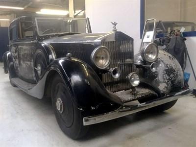Lot 25-1935 Rolls-Royce 20/25 Sedanca de Ville