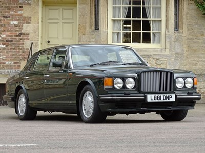 Lot 92-1994 Bentley Turbo RL