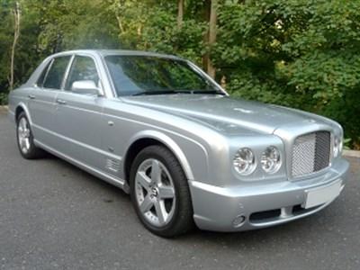 Lot 8 - 2004 Bentley Arnage T Mulliner Level II