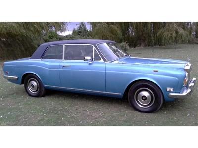 Lot 28 - 1972 Rolls-Royce Corniche