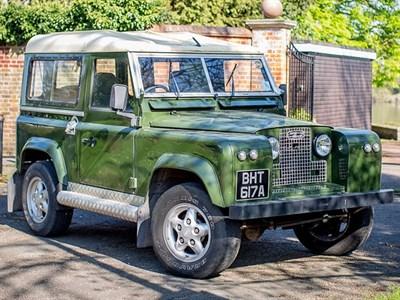 Lot 91-1963 Land Rover 88 Series IIA