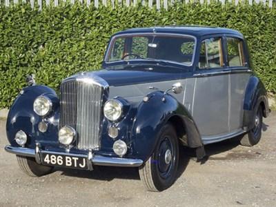 Lot 21-1952 Bentley MK VI Saloon